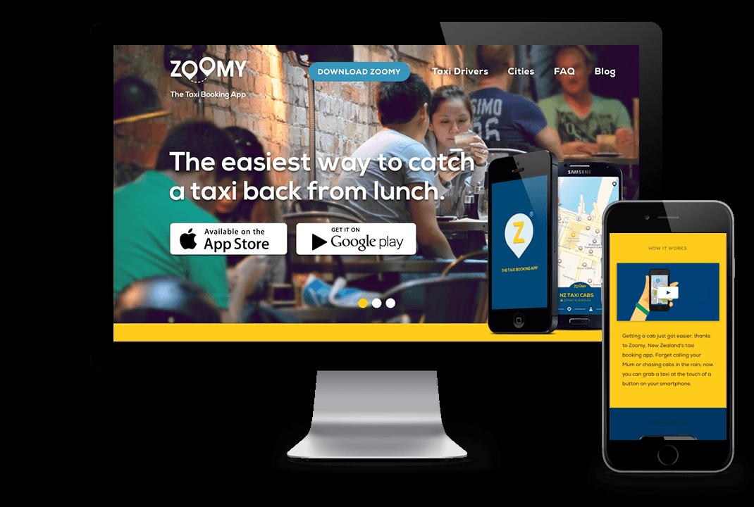 zoomy fracture responsive web design